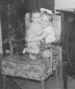 Jag och min syster Birgitta